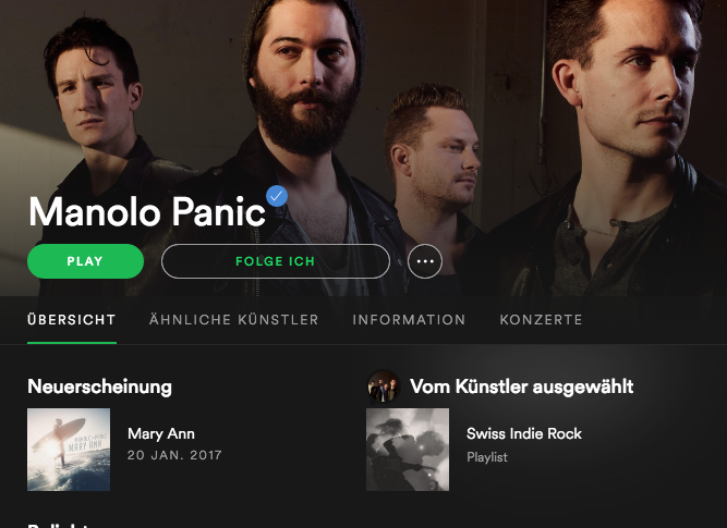 Manolo Panic – Streaming